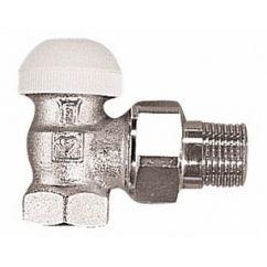 """Термостатический клапан ГЕРЦ-TS-90 угловой 1/2"""" Herz"""