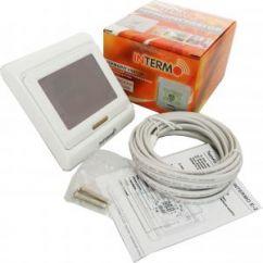 Терморегулятор для теплого пола INTERMO E-203