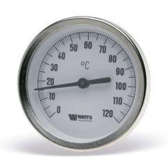 ТЕРМОМЕТР F+R801 OR (TAS) БИМЕТАЛЛИЧЕСКИЙ С ПОГРУЖНОЙ ГИЛЬЗОЙ (63 мм, 0-120°c,  гильза 50 мм)