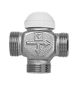 Термостатический трехходовый клапан (HERZ) ГЕРЦ CALIS-TS 1/2